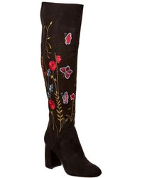 Nanette Nanette Lepore - Nanette By Nanette Lepore Lisette Over-the-knee Suede Boot - Lyst