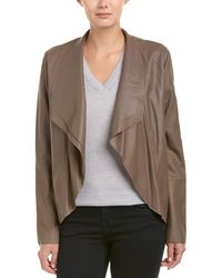 SOIA & KYO - Byanca Leather Jacket - Lyst