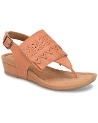 Comfortiva - Shayla Wedge Sandal - Lyst