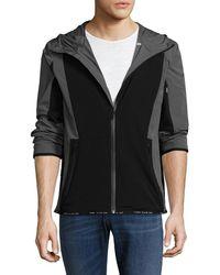 Perry Ellis - 360 Colorblocked Hooded Jacket - Lyst
