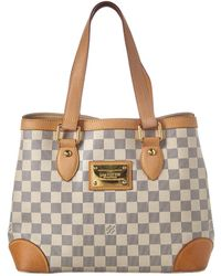 Louis Vuitton - Damier Azur Canvas Hampstead Pm - Lyst