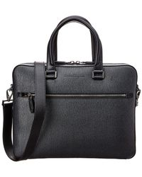 Ferragamo - Leather Briefcase - Lyst