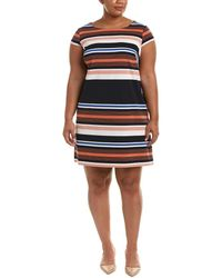 Adrianna Papell - Plus Shift Dress - Lyst
