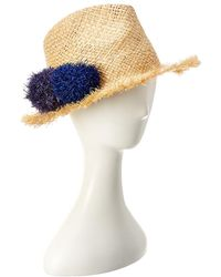 Hat Attack - Fringed Small Brim Hat - Lyst