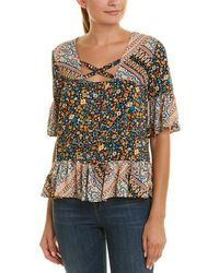 BCBGeneration - Ruffle Top - Lyst