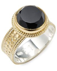 Anna Beck - Jewelry 18k Yellow Gold Plated Silver Statement Ring - Lyst