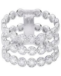 Diana M. Jewels - . Fine Jewelry 14k Tri-layer 1.00 Ct. Tw. Diamond Ring - Lyst