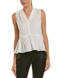 Rebecca Taylor - Pleated Silk Top - Lyst