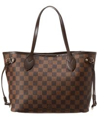 Louis Vuitton - Damier Ebene Canvas Neverfull Pm - Lyst