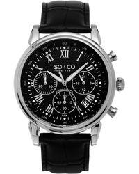 SO & CO - Men's Monticello Watch - Lyst