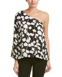 Vince Camuto - Long-sleeve Elegant Blossom Top - Lyst