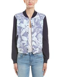 Sol Angeles - Sweatshirt Bomber Jacket - Lyst