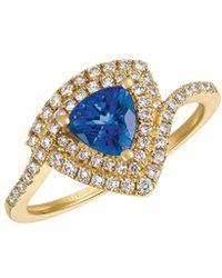 Le Vian - ® 14k 1.04 Ct. Tw. Diamond & Tanzanite Ring - Lyst