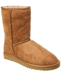 UGG - Classic Short Suede Boot - Lyst