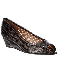 French Sole - Necessary Patent Wedge - Lyst
