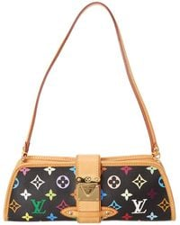 Louis Vuitton - Black Monogram Multicolore Canvas Shirley - Lyst