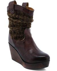 Bed Stu - Bruges Leather Bootie - Lyst