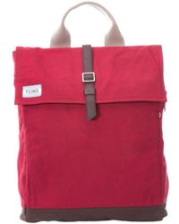 TOMS - Waxed Canvas Backpack - Lyst