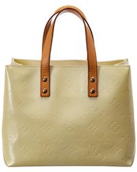 Louis Vuitton - White Monogram Vernis Leather Reade Pm - Lyst