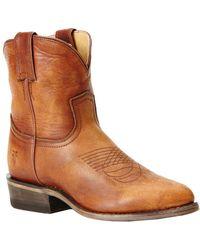 Frye - Billy Short Boot, 5.5 - Lyst
