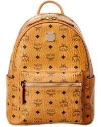 MCM - Stark Small Visetos Backpack - Lyst