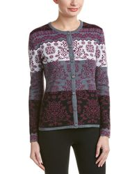 Obermeyer - Daisy Knit Wool-blend Cardigan - Lyst