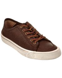 Frye - Miller Low Top Leather Trainer - Lyst