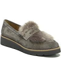 Franco Sarto   Harriet Wedge Loafer Flats   Lyst