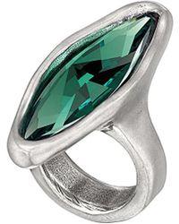 Uno De 50 - Unode50 Magia Silver Crystal Ring - Lyst