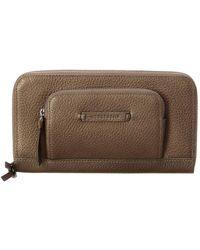 Longchamp - Madeleine Leather Zip Around Wallet - Lyst