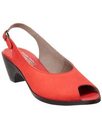 Mephisto - Magdalena Leather Pump - Lyst