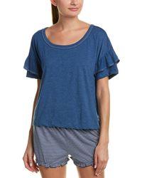 Splendid - Maternity Friendly Tiered Ruffle Pajama T-shirt - Lyst