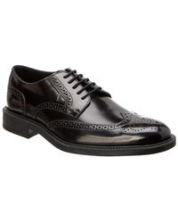 Tod's - Leather Lace-up Derby Shoe - Lyst