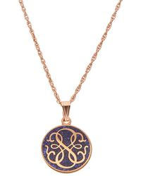 ALEX AND ANI - Alex & Ani Rose Gold Path Of Life Necklace - Lyst