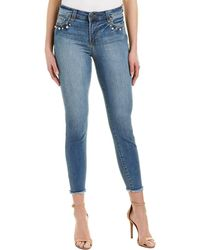 Kut From The Kloth - Connie Regular High-rise Ankle Skinny Leg - Lyst