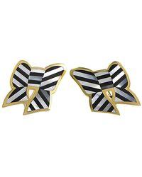 Heritage Tiffany & Co. - Tiffany & Co. 18k Onyx & Pearl Drop Earrings - Lyst