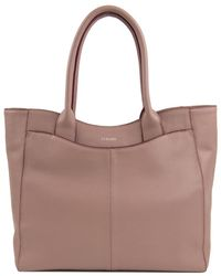 Perlina - Amelia Leather Tote - Lyst
