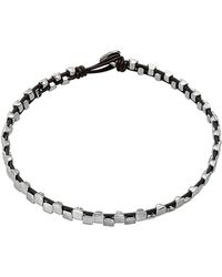 Uno De 50 - Unode50 Nailed Silver Plated Necklace - Lyst