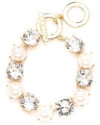 Zenzii - Crystal Royale Gemstone Bracelet - Lyst