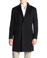 Saks Fifth Avenue - Collection Wool & Cashmere Coat - Lyst