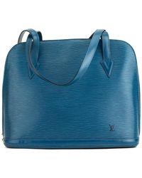 Louis Vuitton - Blue Epi Leather Lussac - Lyst