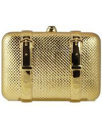 Judith Leiber - Champagne Valise Clutch - Lyst