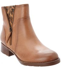 Söfft - Comfortiva Val Leather Bootie - Lyst