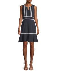 Nanette Lepore - Nanette By Knit A-line Dress - Lyst