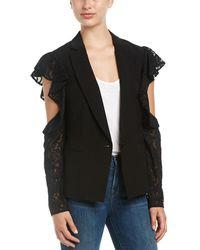 BCBGMAXAZRIA | Cold-shoulder Jacket Blazer | Lyst