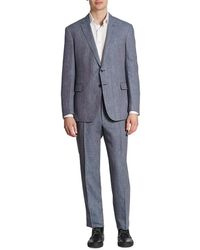 Ralph Lauren - Textured Wool Blend Suit - Lyst