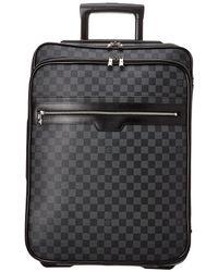 Louis Vuitton - Damier Graphite Canvas Pegase 55 - Lyst
