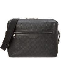 Louis Vuitton - Black Damier Infini Leather Calypso Mm - Lyst