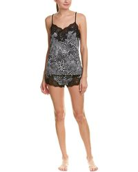 Natori - Exotic Animal 2pc Pajama Short Set - Lyst