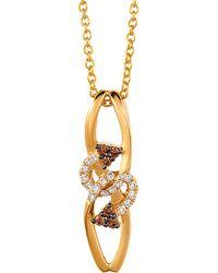 Le Vian - ? 14k 0.11 Ct. Tw. Diamond Necklace - Lyst